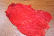 Lathkill Dyed Large Salmon Hen Cape Red