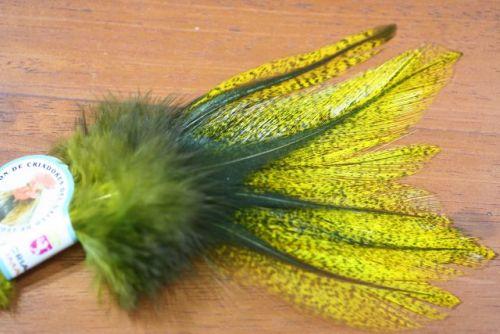 Spirit River UV2 Perdigon Coq De Leon Flo Yellow