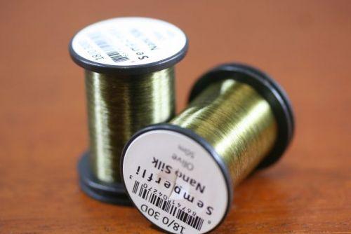 Nano Silk 18/0 30 Denier Olive