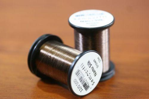 Nano Silk 12/0 50 Denier Brown
