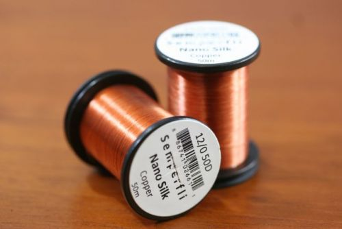 Nano Silk 12/0 50 Denier Copper