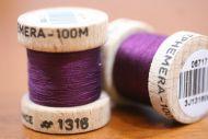 Ephemera Silk 1316 Claret