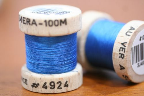 Ephemera Silk 4924 Royal Blue