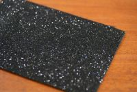 Glitter Thin Foam Black