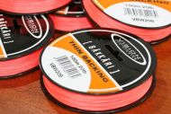 Bakkari Thin Backing 20lb Orange 100metres