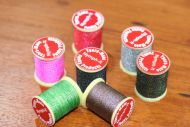 7 Spools Of Tyers Mate Braided Thread