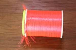 Glo-Brite Multi Yarn No. 5 Fire Orange