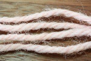 Aunt Lydias Sparkle Yarn Shrimp Pink