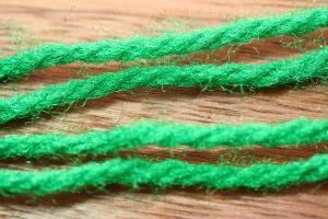 Aunt Lydias Sparkle Yarn Dark Green