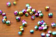Rainbow Beads 3mm
