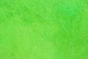 Leicester Wool Dubbing Insect Green
