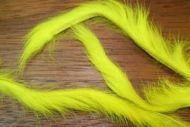 "1/8"" Rabbit Zonker Strips Yellow"