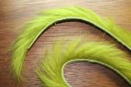 "1/8"" Rabbit Zonker Strips Olive"