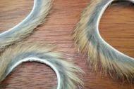 "1/8"" Rabbit Zonker Strips Natural Brown"