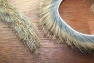 "1/4"" Magnum Rabbit Zonker Strips Natural Brown"