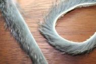 "1/4"" Magnum Rabbit Zonker Strips Natural Grey/Chinchilla"