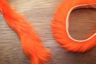 "1/4"" Magnum Rabbit Zonker Strips Hot Orange"