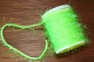 Ice Straggle Cactus Chenille Standard Chartreuse