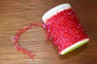 UV Straggle Cactus Chenille Extra Fine Red