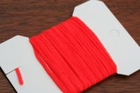 Standard Ultra Chenille Flo Fire Orange