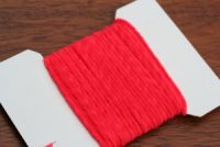 Standard Ultra Chenille Flo Red
