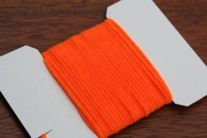 Standard Ultra Chenille Flo Orange