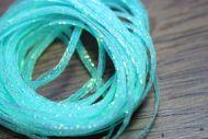 Hareline Mini Flat Fly Braid Minnow Blue Pearl