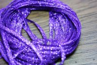 Hareline Mini Flat Fly Braid Purple