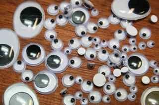 3mm - White/Black Pupil