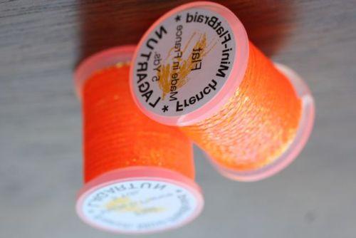 Lagartun Mini Flat Braid Flo Orange