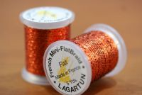 Lagartun Mini Flat Braid Rust