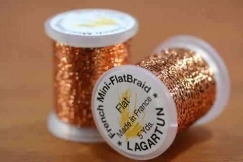 Lagartun Mini Flat Braid Copper