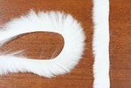 "1/8"" Fluffy Bunny Strips White"