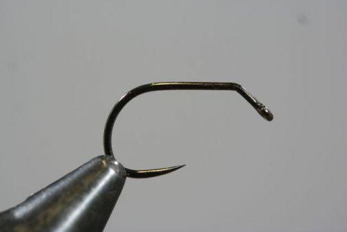 31525 Jig Force Short Barbless Black Nickel Size 10