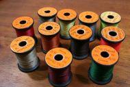 11 spools of Uni 6/0 thread