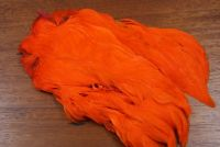 Lathkill Dyed Indian Broiler Hen Cape Hot Orange