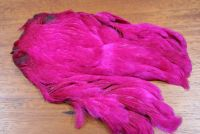 Lathkill Dyed Indian Broiler Hen Cape Magenta