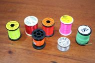 7 Spools of part used thraed and floss