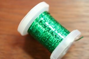 Holographic Tinsel Large Green