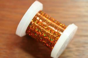 Holographic Tinsel Medium Copper