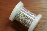 Holographic Tinsel Large Silver