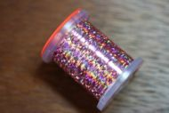 Holographic Tinsel Small Pink