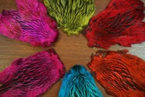 Lathkill Dyed Indian Badger Hen Capes