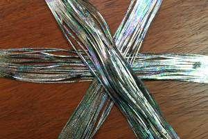 Hareline Rainbow Shimmer Legs