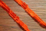 "Hareline 1/4"" Pseudo Herl Hot Orange"