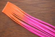 Tipped Crazy Legs Hot Pink/Flo Orange Tipped
