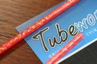 Tubeworx Outer Tubing Flo Orange Glitter Gold