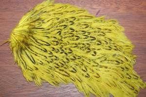 Lathkill Dyed Indian Speckled Saddle Golden Olive