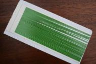 Synthetic Quill Green