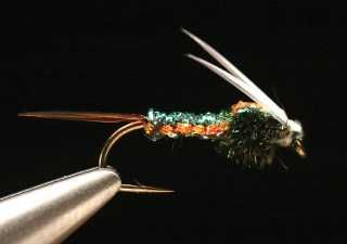Hareline Midge Diamond Braid